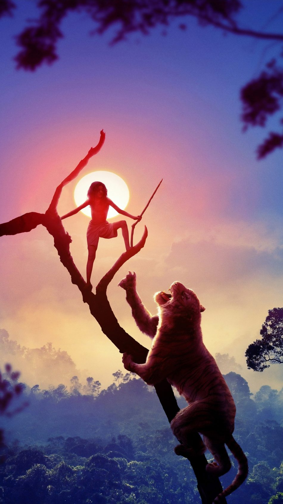 Download Mowgli Legend of The Jungle Pure 4K Ultra HD Mobile 950x1689
