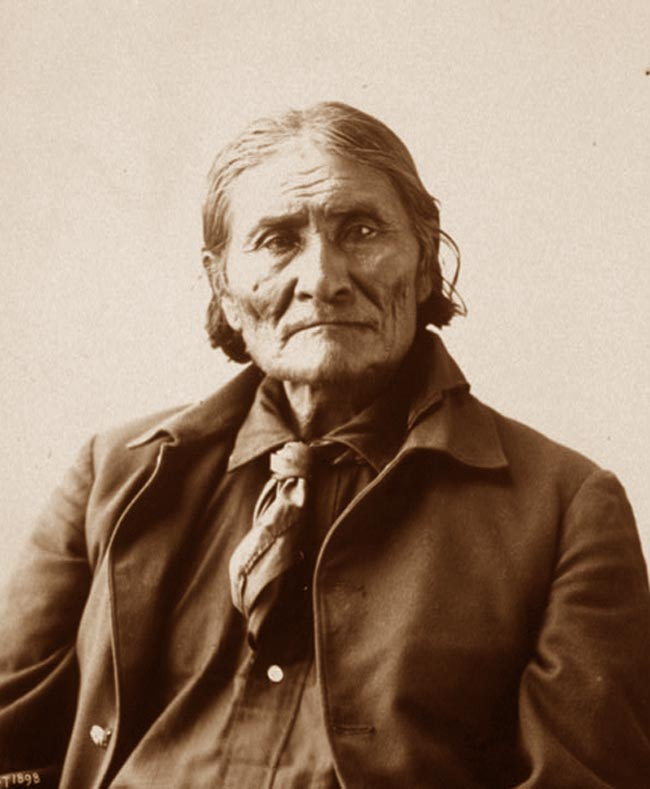 Apache Indian Chief Geronimo 650x789