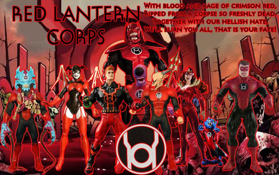 Red Lantern Corps Wallpaper 900x563