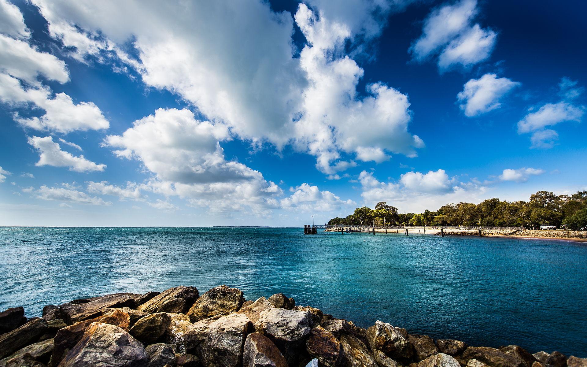 Ocean Landscape Wallpapers HD Pictures Live HD Wallpaper 1920x1200
