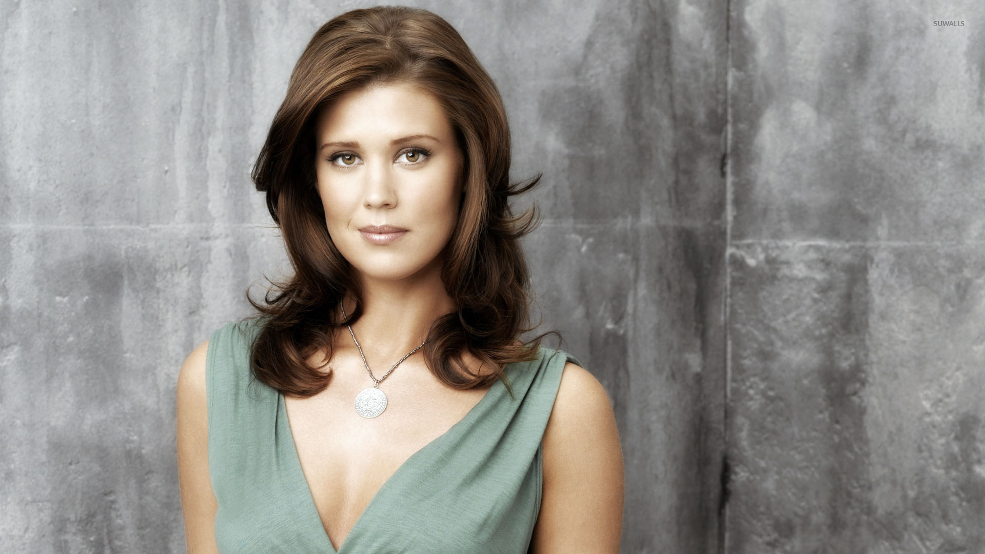 Cute Sarah Lancaster with necklace wallpaper   Celebrity 1920x1080