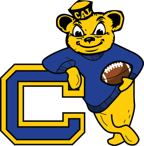 Cal Bear Logo Cal bear 493x500