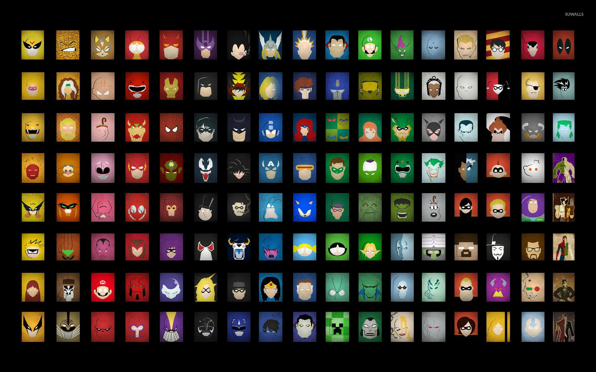 4k superhero wallpapers wallpapersafari - All marvel heroes wallpaper ...