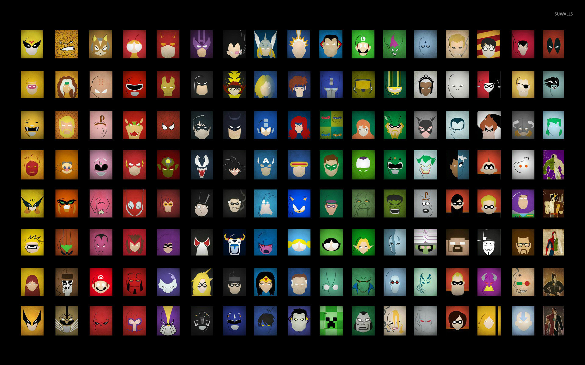 Superheroes wallpaper   Comic wallpapers   21007 1366x768