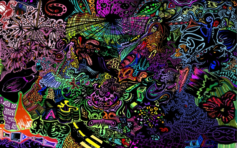 abstract psychedelic artwork Art artwork HD Desktop Wallpaper 800x500