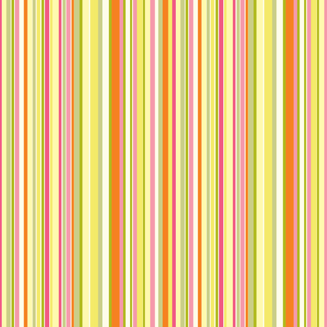 Simple Stripe   Pink Orange Wall Mural contemporary wallpaper 640x640