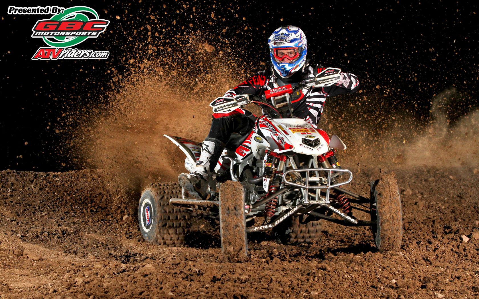 Garrin Fuller   Honda TRX450R Sport ATV   Wednesday Wallpapers 1680x1050
