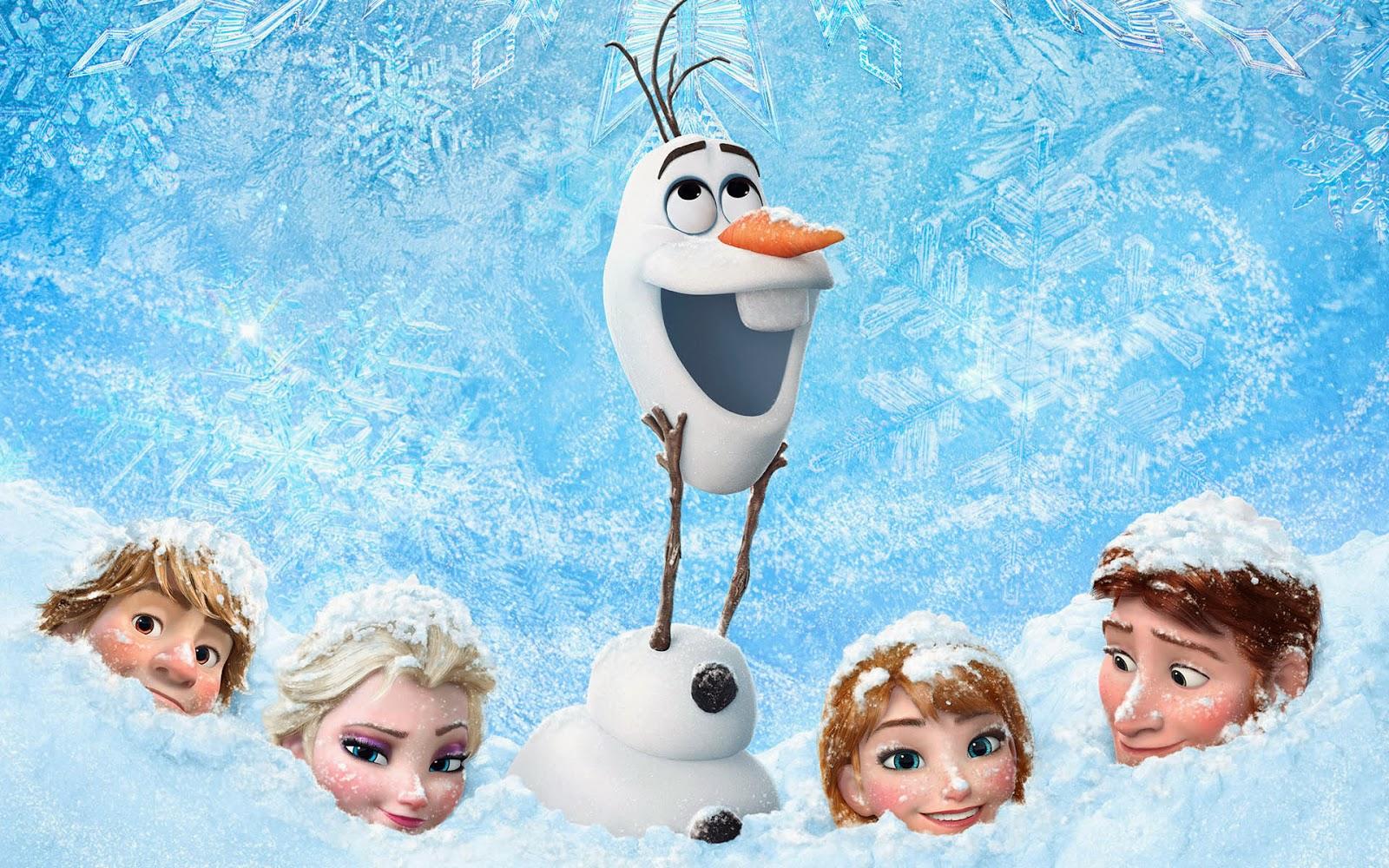 Bilder Walt Disney 3D animationsfilm Frozen wallpaper 1600x1000