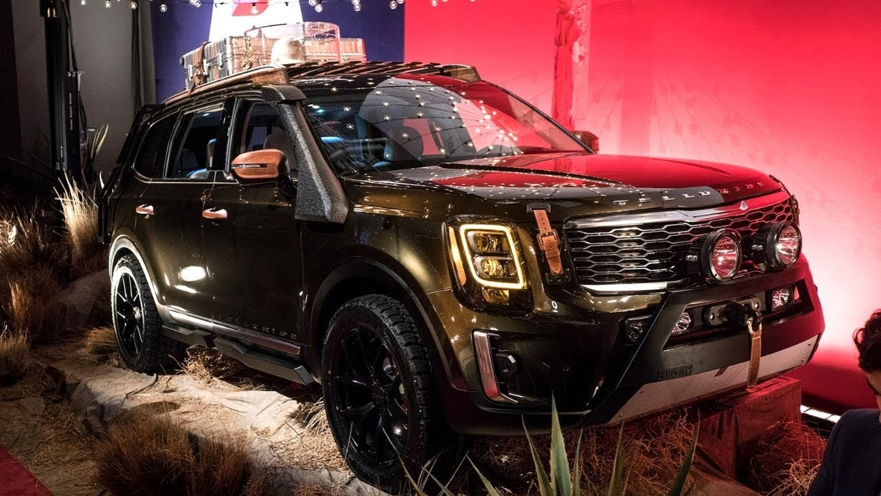 2020 Kia Telluride High Resolution Wallpaper Best Car Magazine 1280x720