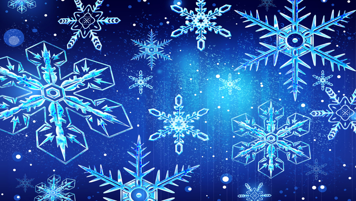 Beautiful Winter Snowflakes HD Wallpapers for iPhone iPhone 1136x640