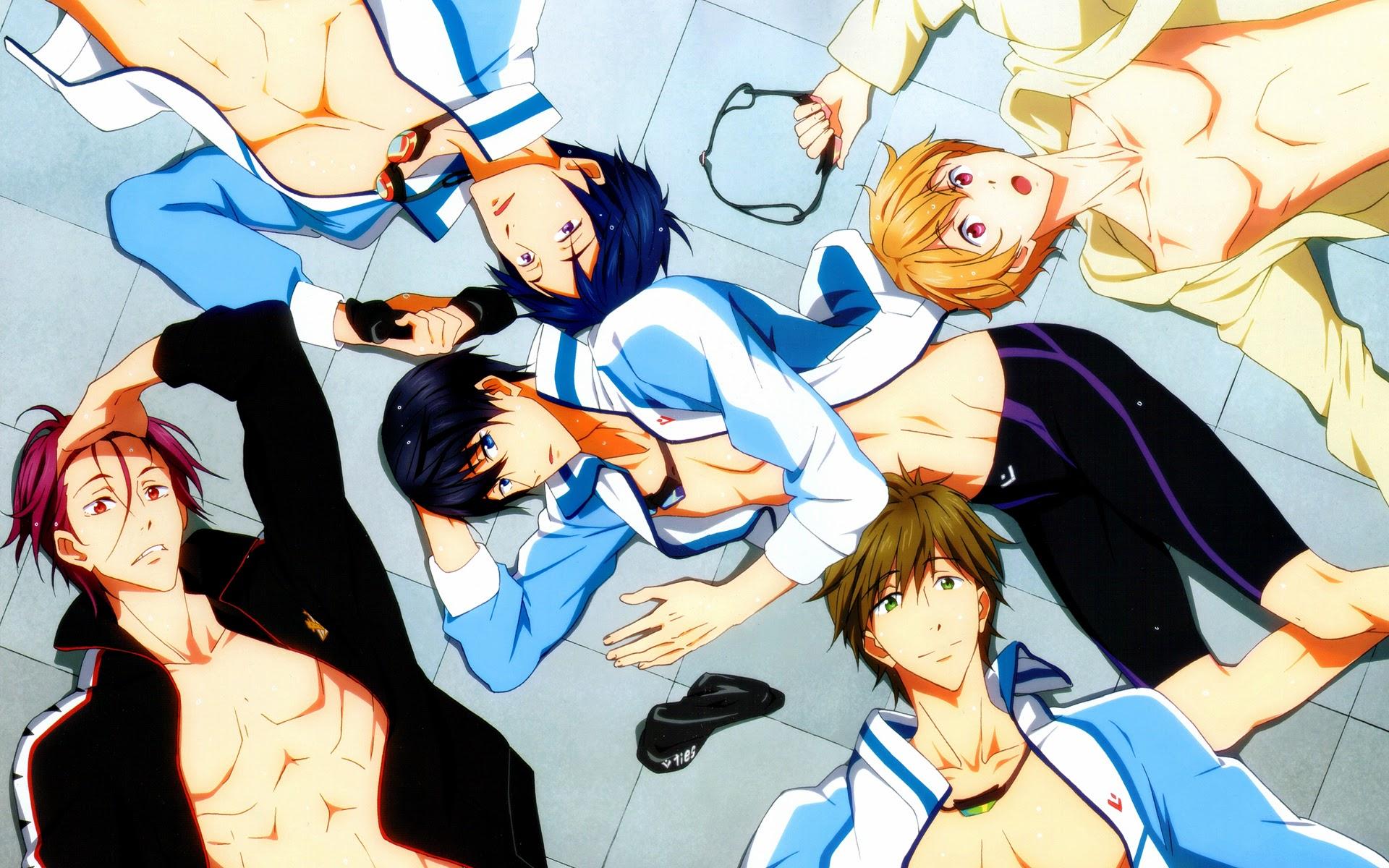 Iwatobi Swim Club Anime 04b HD Wallpaper 1920x1200