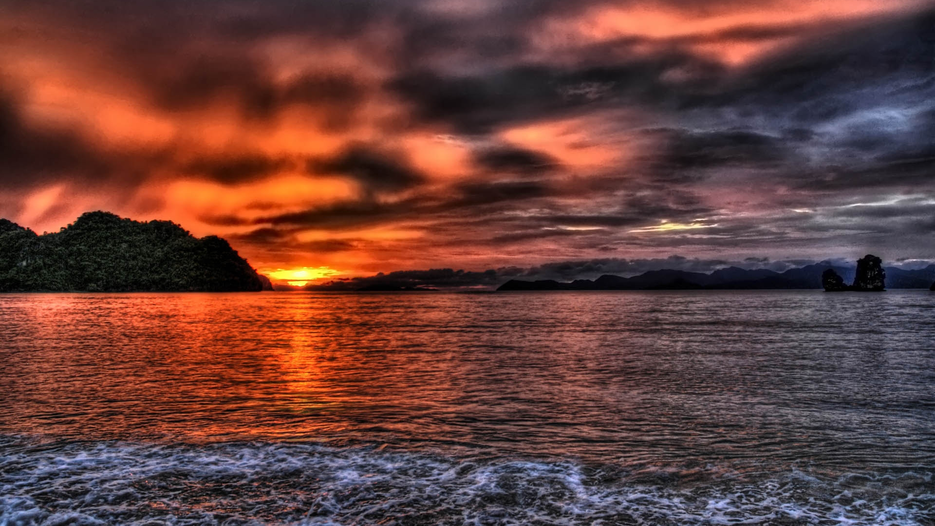 Beautiful Sunset Wallpaper 12797 Pictures 1920x1080