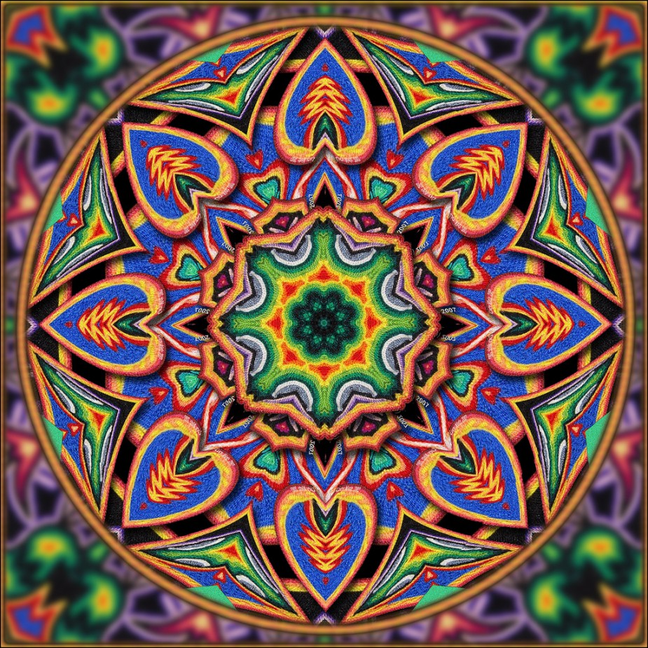 Huichol Art Galactic Resonance 925x925
