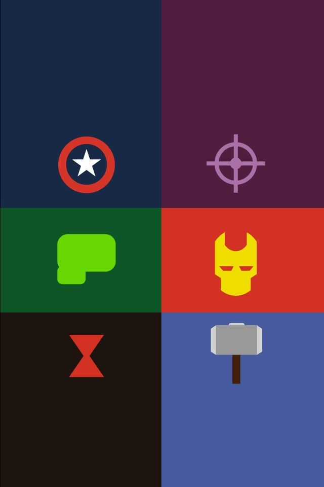 Wallpapers Iphone Ipod Wallpapers Avengers Iphone Ipod Avengers 640x960