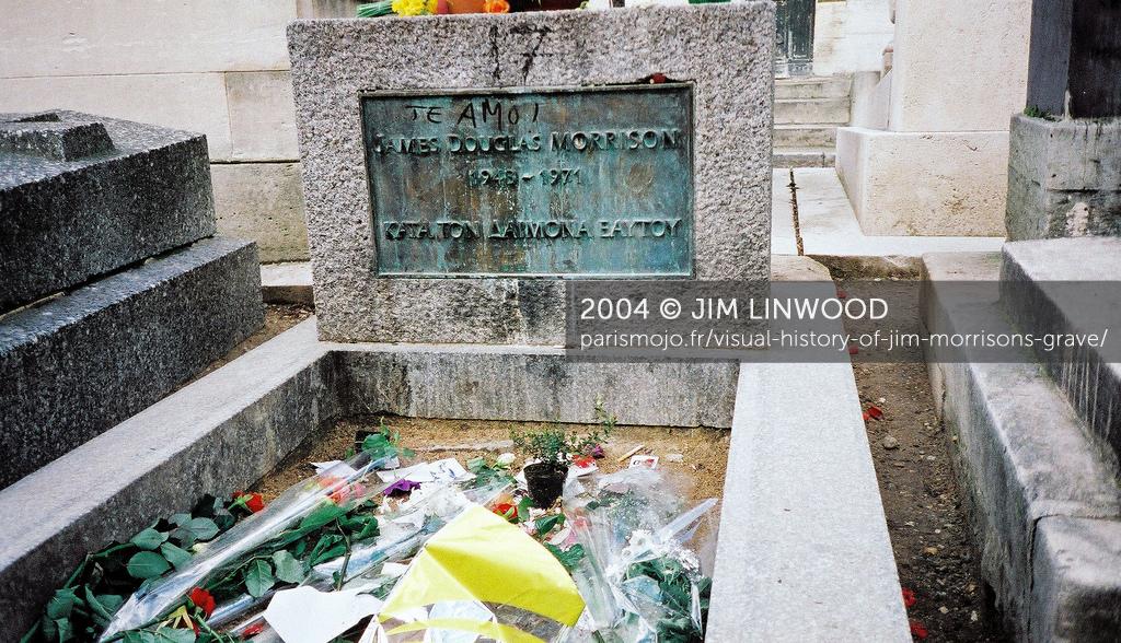 Visual history of Jim Morrisons grave Paris Mojo 1024x588