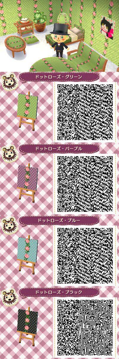 animal crossing wallpaper qr codes