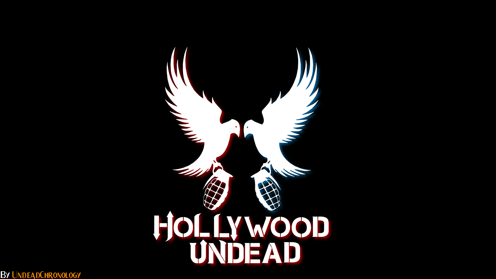 simple hollywood undead wallpaper 1080p by dcfempx fan art wallpaper 1920x1080