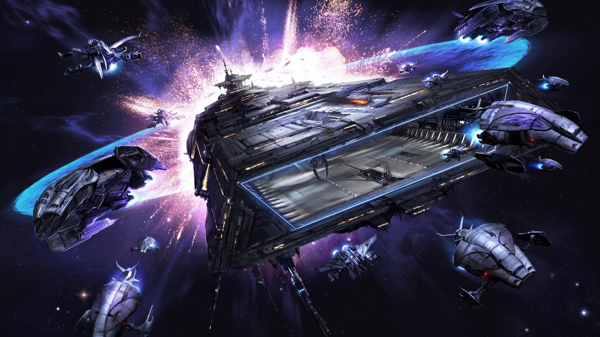 Spaceships X Rebirth space spaceship wallpaper 1920x1080 1920x1080