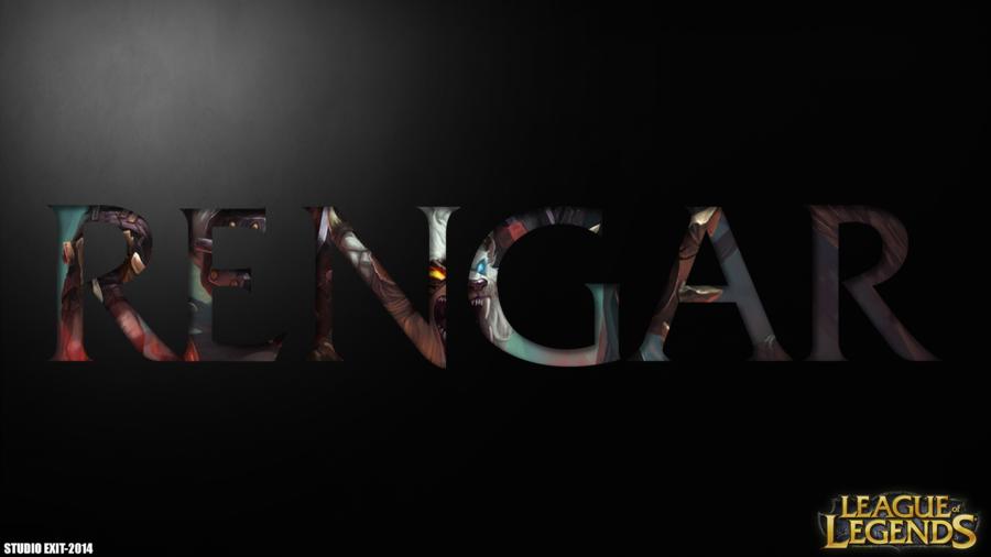 Wallpaper Rengar league of legends by Black adrac star 900x506