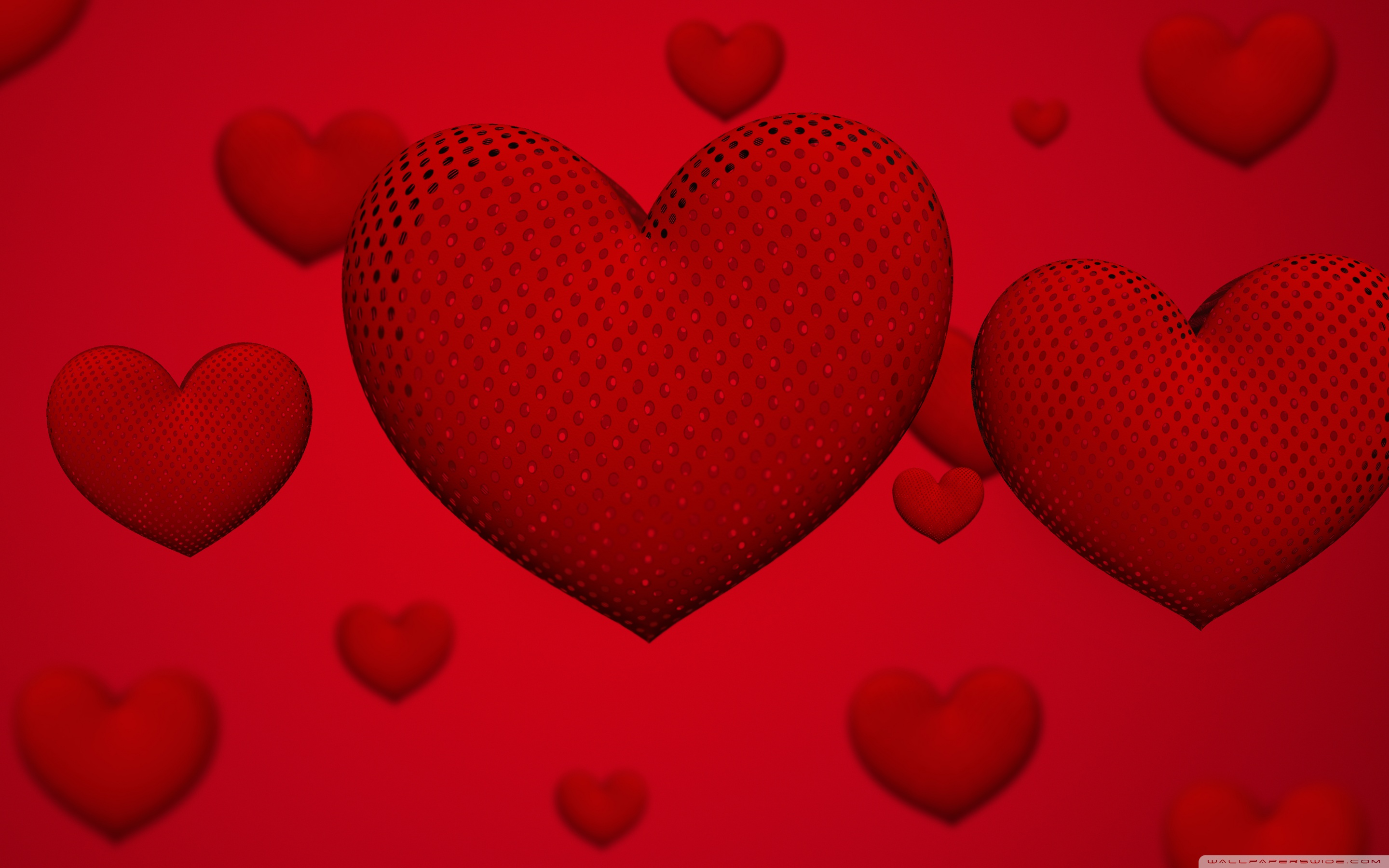 Valentines Day Hearts Ultra HD Desktop Background Wallpaper for 2880x1800
