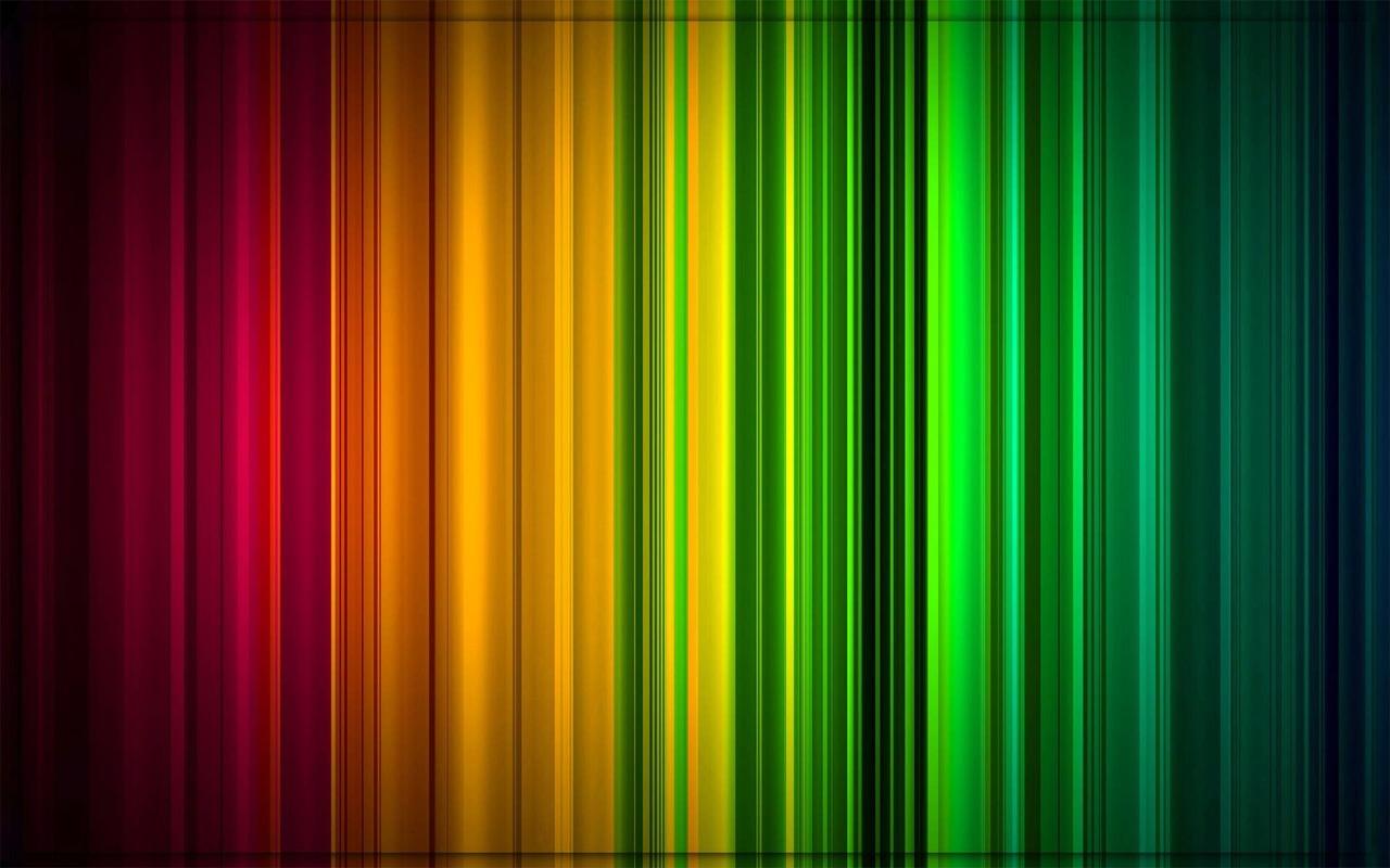 Colorful stripes wallpaper 1280x800