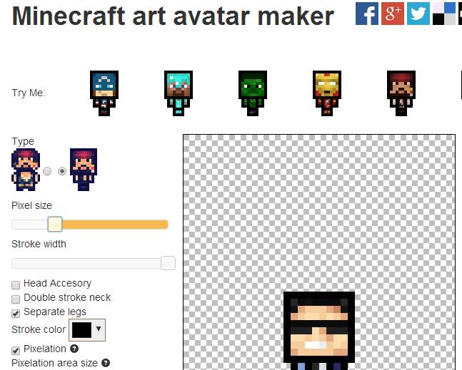 Download minecraft avatar maker 590x473 [647x519] | 37+ 3D