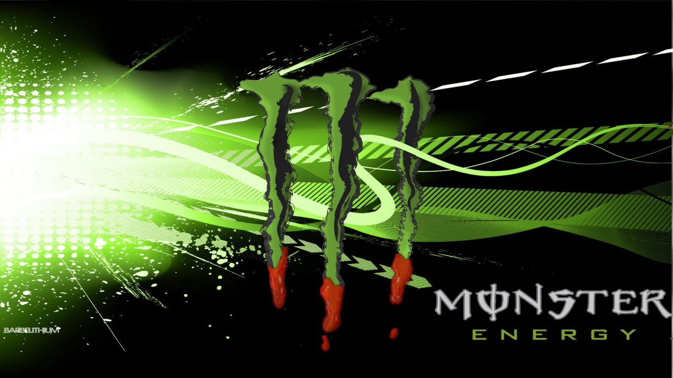 Monster Energy Desktop Wallpaper 1366x768