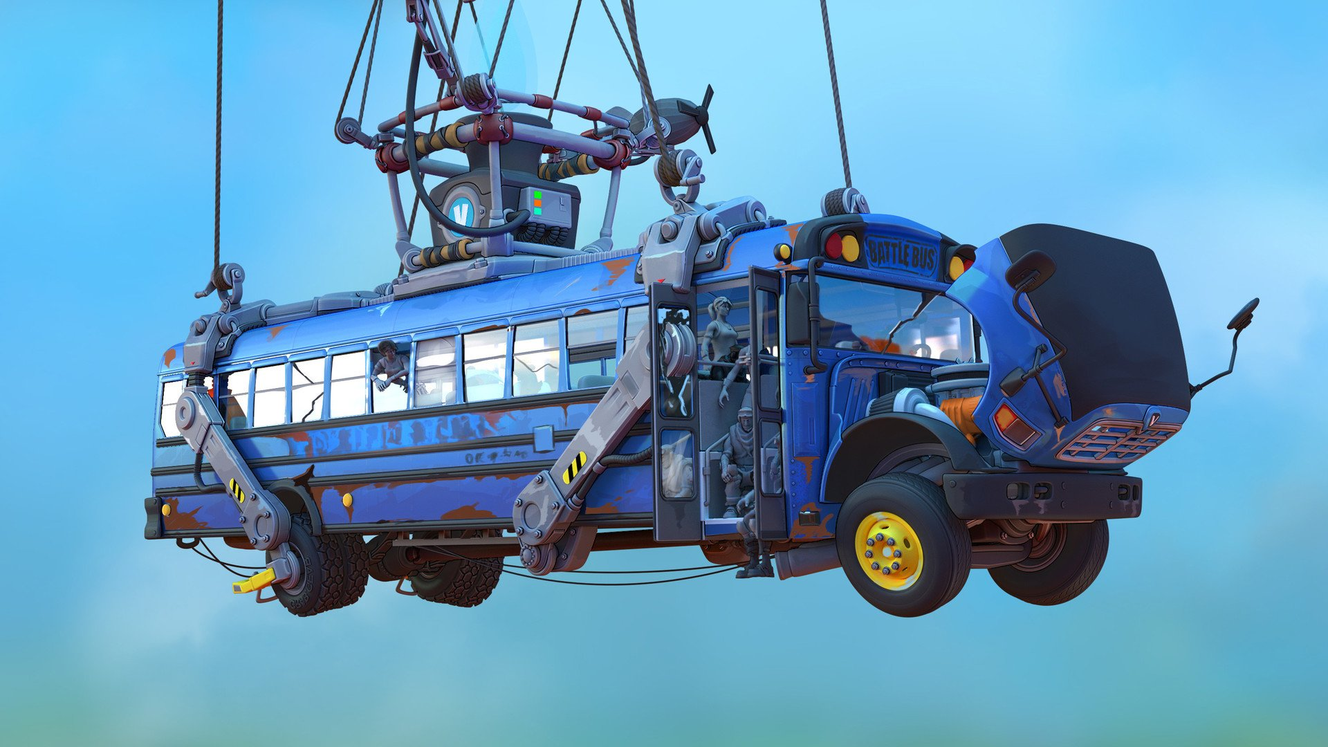 Fortnite Battle Bus Path Change Concept to Disperse Players More 1920x1080