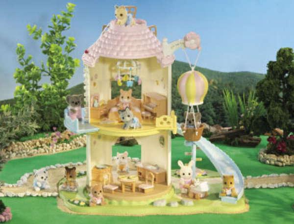 Calico Critters Baby Bedroom Set Pictures to like or share on Facebook 600x457