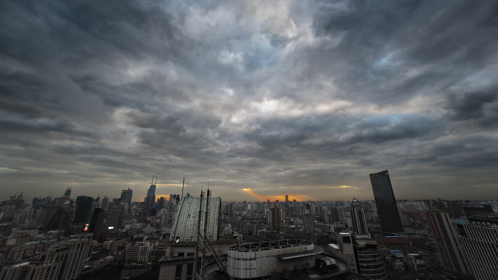 Cloudy Shanghai   Shanghai   The City Pictures 1024x576