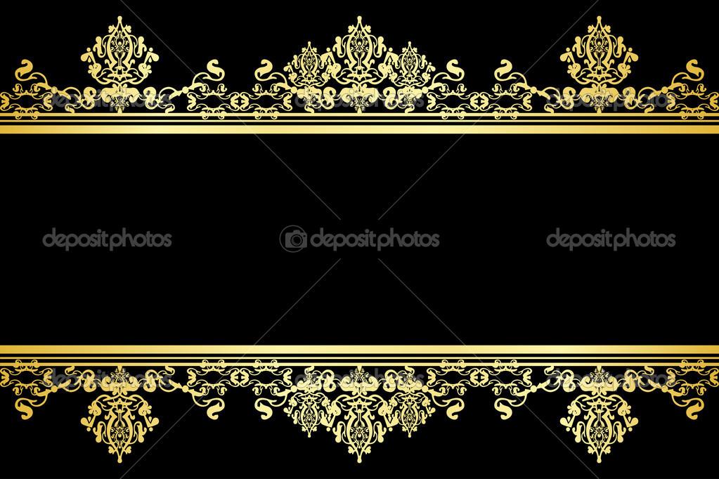 Free Download Elegant Black And Gold Wallpaper 8 Wide
