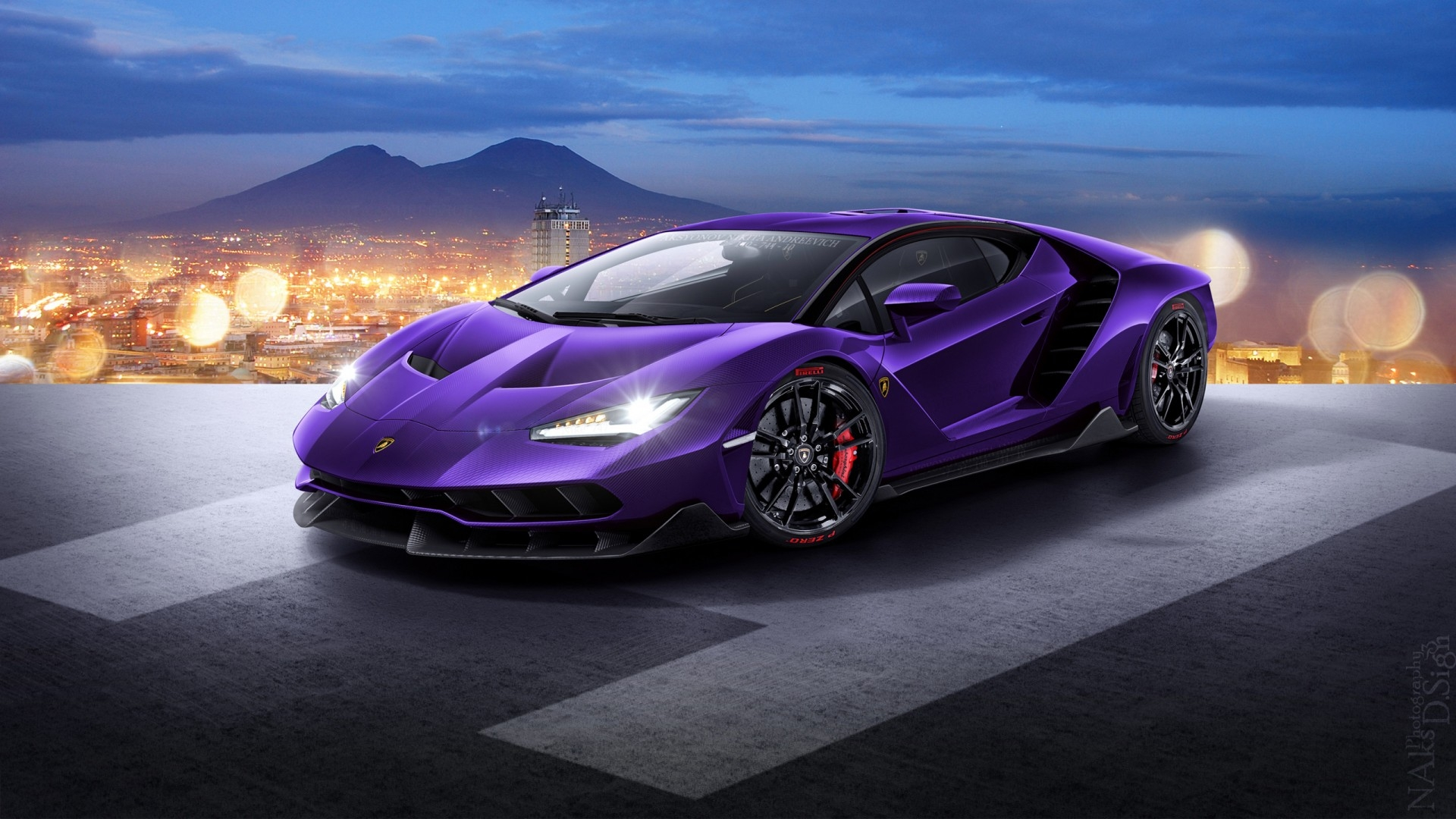 Purple Lamborghini Wallpapers Wallpapersafari