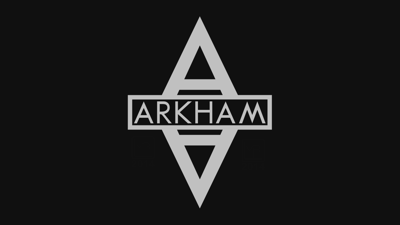 Arkham Asylum Symbol Wallpaper by MorganRLewis 1366x768