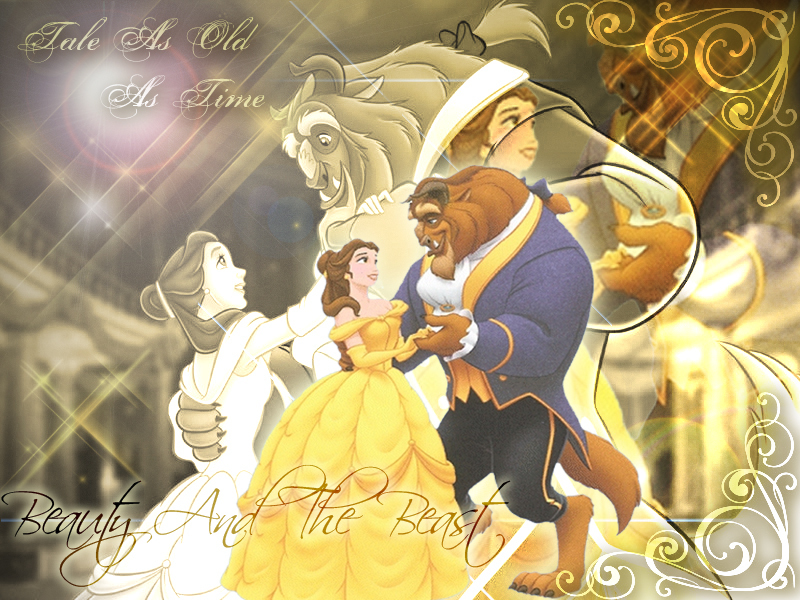 Beauty and the Beast Wallpaper   Beauty and the Beast Wallpaper 800x600