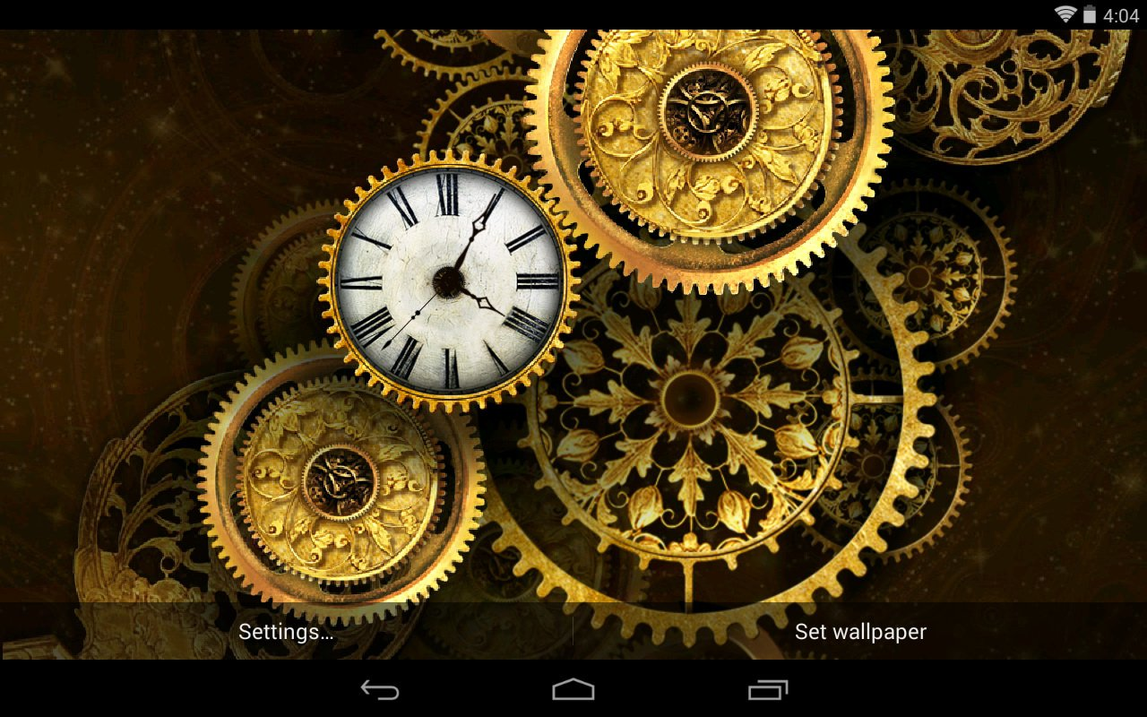 steampunk gears wallpaper - photo #13
