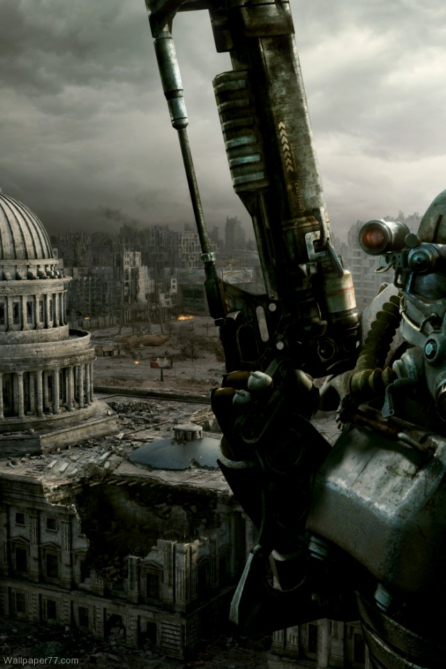 Fallout 3 Wallpaper 6 fallout 3 wallpapers game wallpapers 640x960jpg 640x960