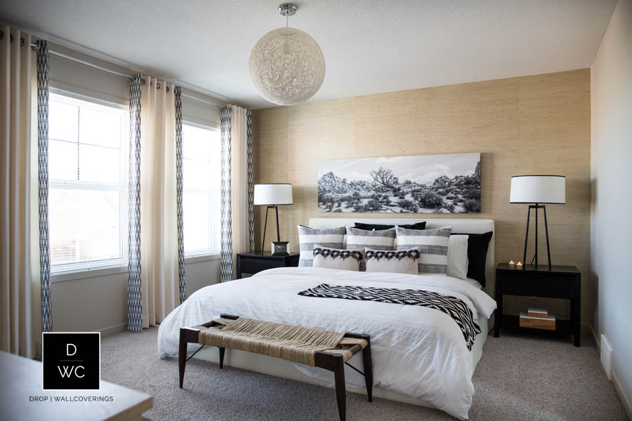 Natural Grasscloth by Calgary Wallpaper Installer Drop Wallcoverings 900x600