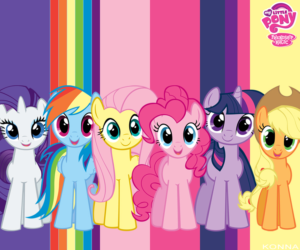 MLPFIM Wallpaper by konnaseshiru 960x800