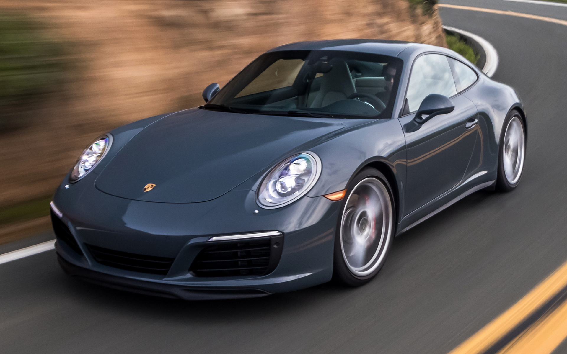 Porsche 911 Carrera S Car Wallpaper PNG Transparent best stock 1920x1200