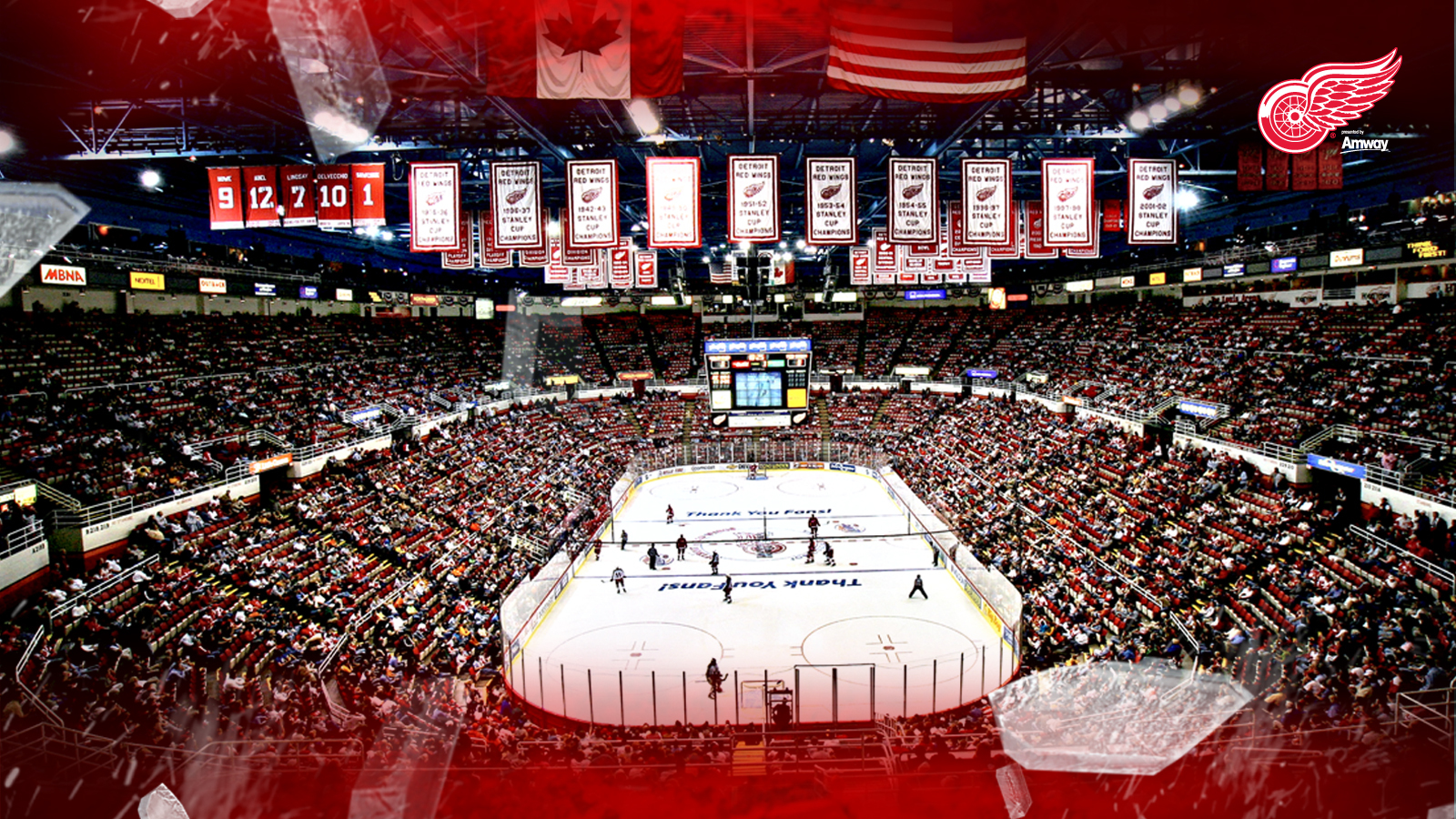 Detroit Red Wings wallpapers Detroit Red Wings background   Page 8 1600x900