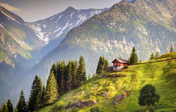 Wallpaper switzerland alps mountain wallpapers landscapes   download 596x380