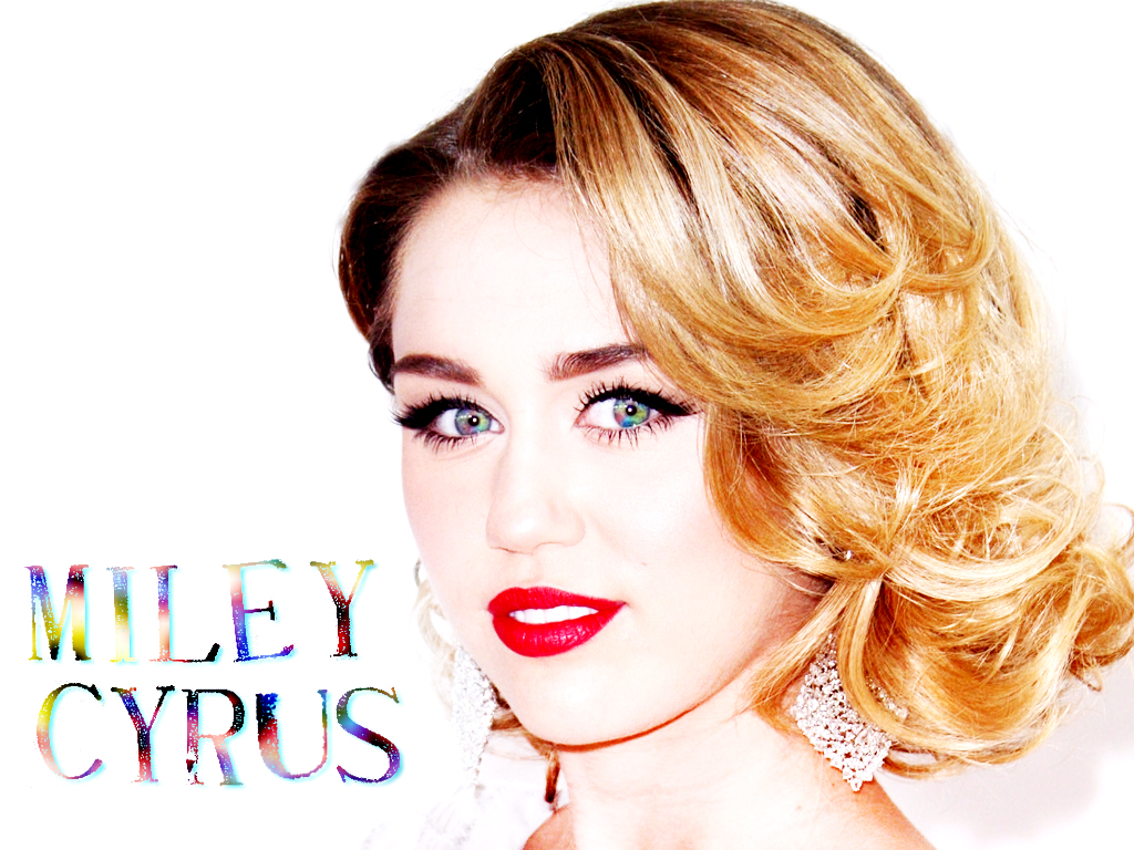 Miley Wallpapers by DaVe   Miley Cyrus Wallpaper 30834523 1024x768