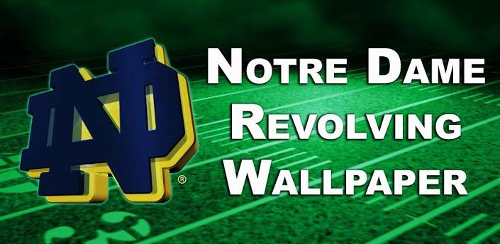 Notre Dame Logo Wallpaper  WallpaperSafari
