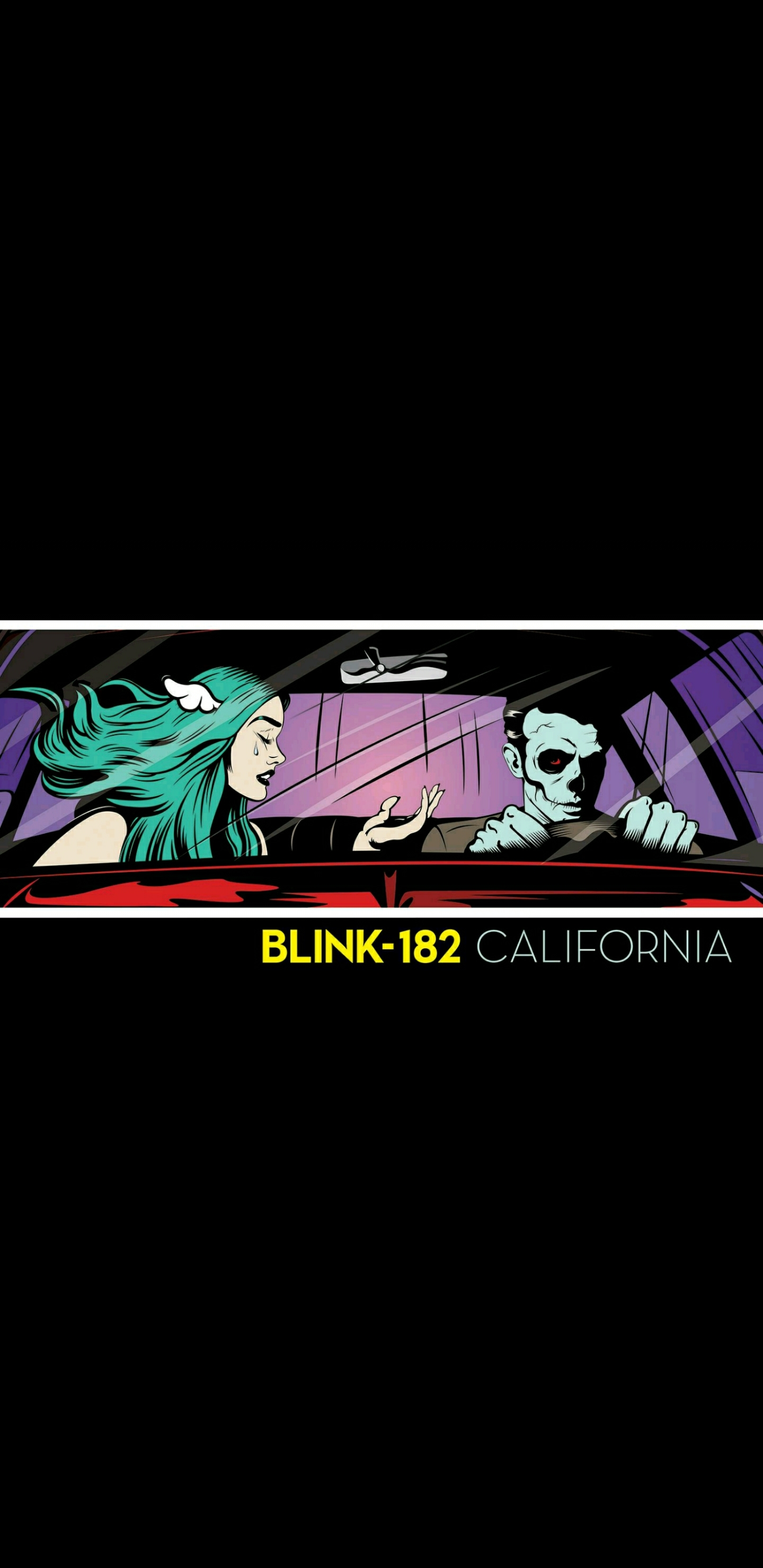 Made a California DLX wallpaper for mobile phones Happy blink 1440x2960