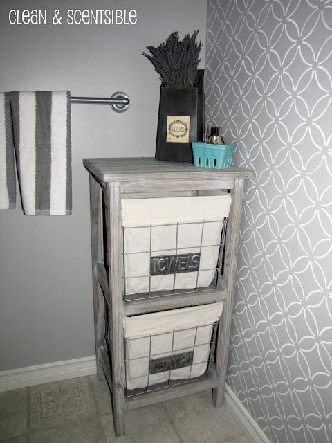Neutral bath gorgeous wallpaper For the Home Pinterest 480x640
