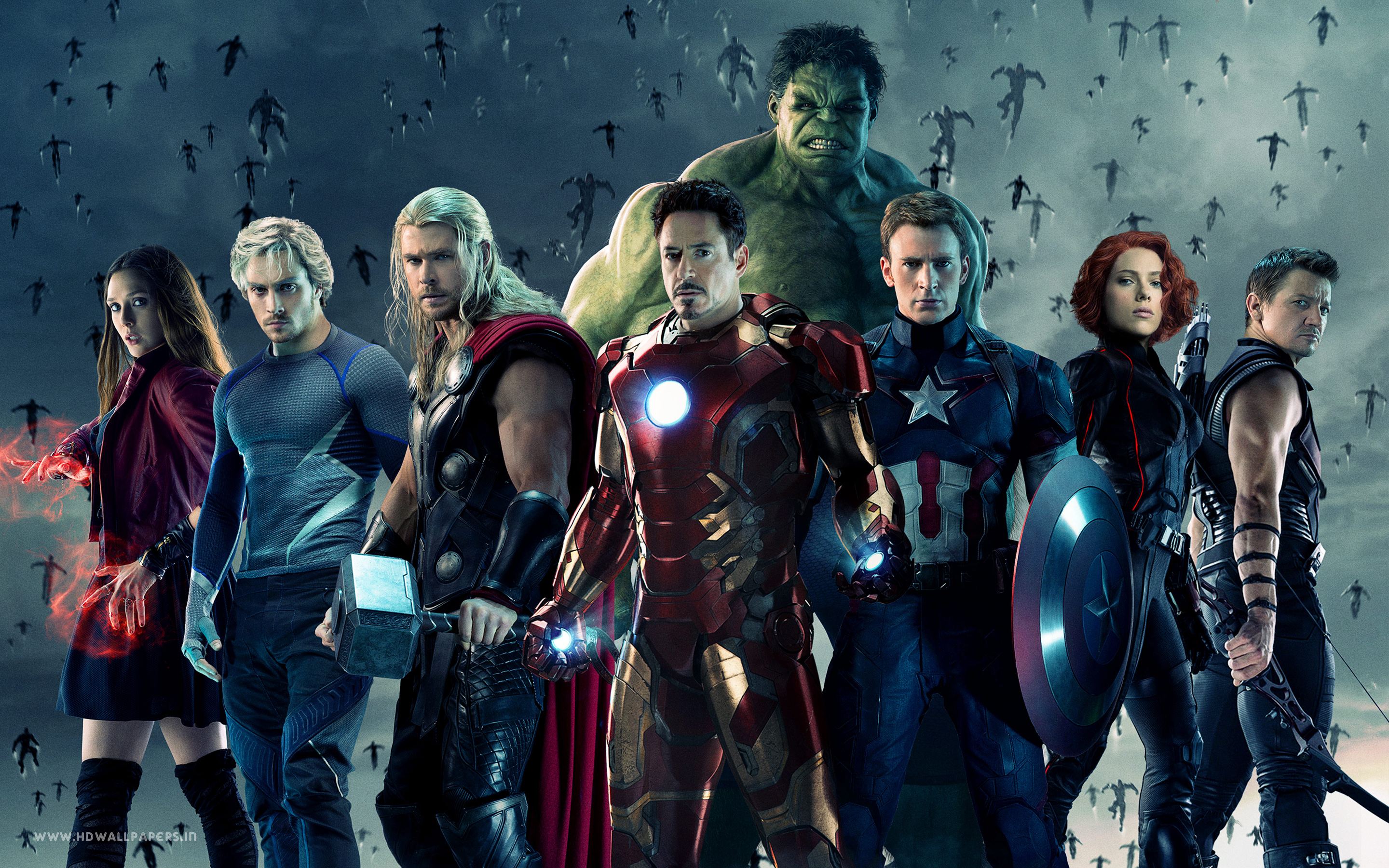 Avengers Age of Ultron 2015 Movie Wallpapers HD Wallpapers 2880x1800