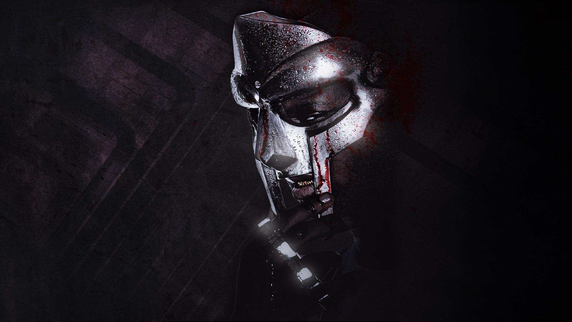 Music mf doom hip hop rap singers wallpaper 25655 1920x1080