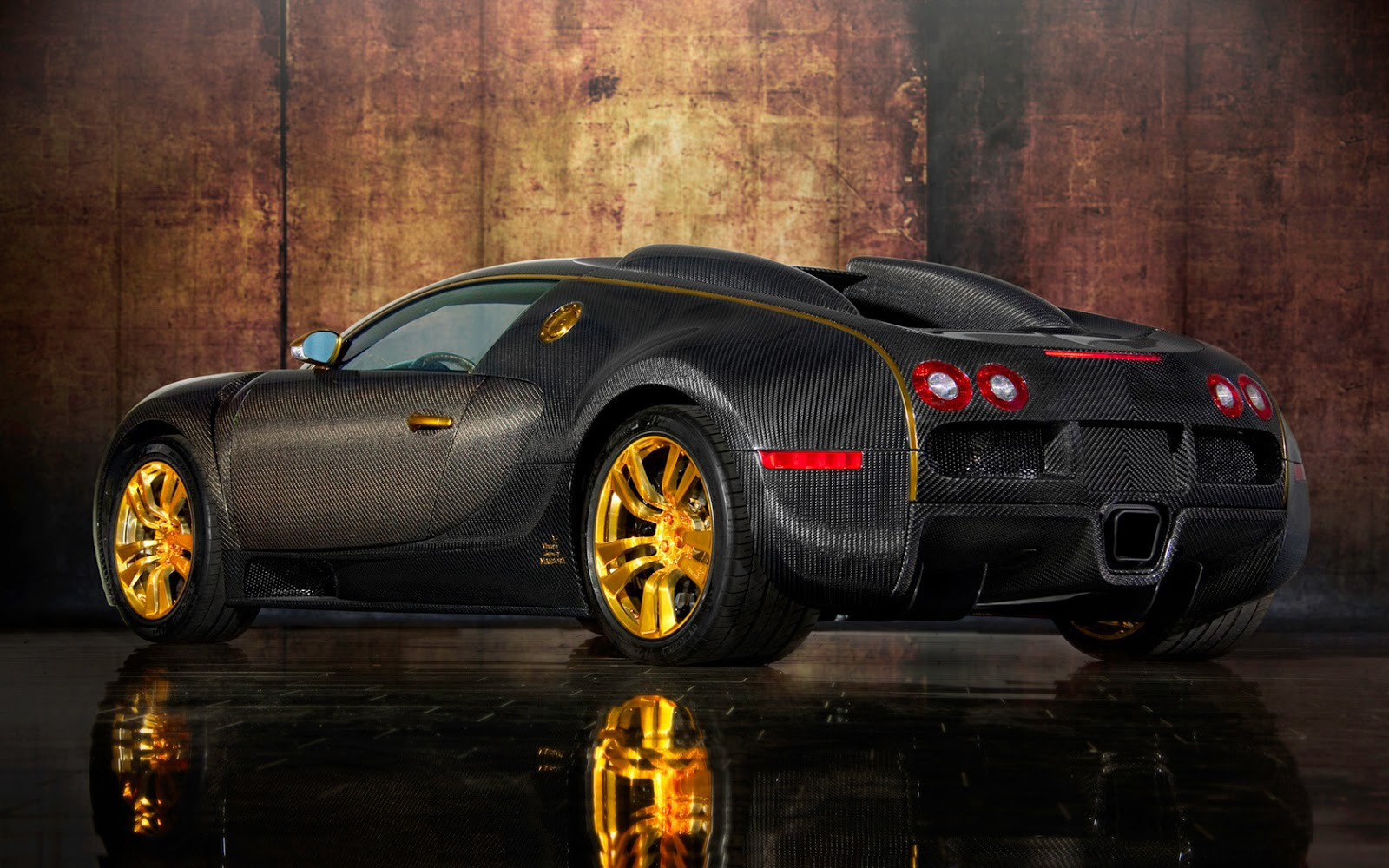 Bugatti Veyron Gold Edition Wallpapers Cars Wallpapers HD 1600x1000
