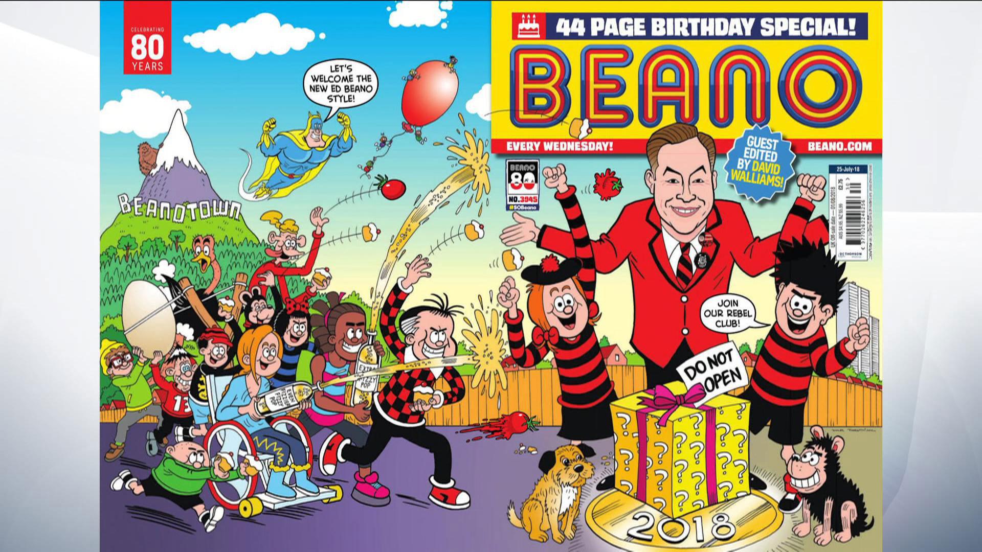 Beano Comic Turns 80 Years Old 300718 Skycom 1920x1080