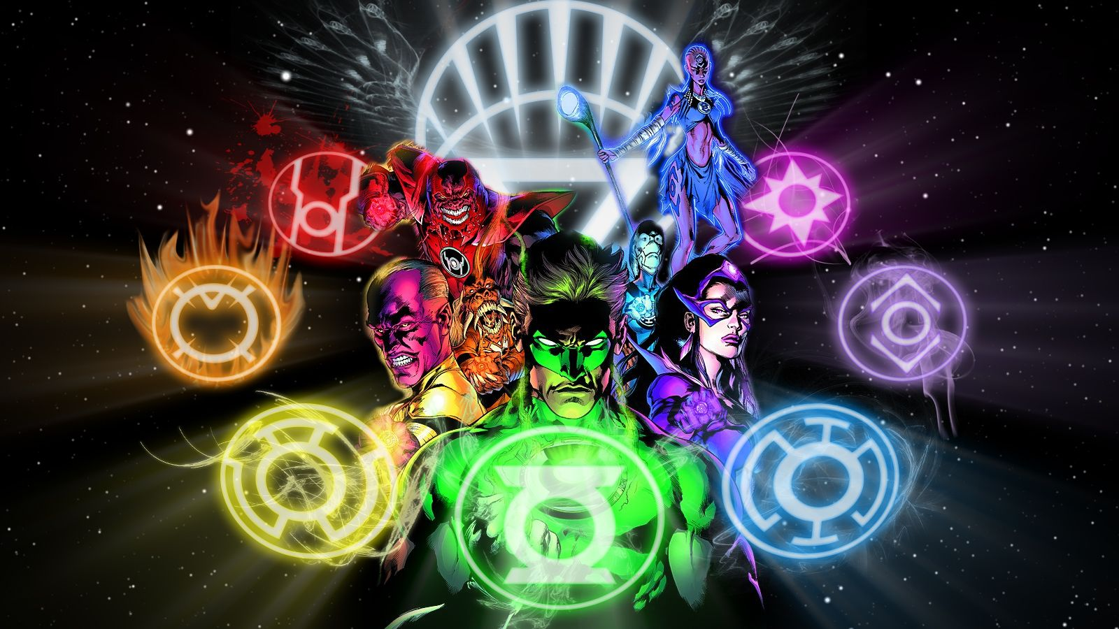 The New Guardians Green lantern wallpaper Green lantern Lanterns 1600x900